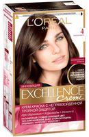 """Крем-краска для волос """"Excellence"""" (тон: 4, каштановый)"""