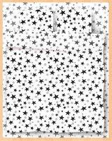 "Постельное белье ""Stars White"" (евро)"