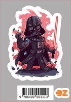 """Глянцевая наклейка """"Звёздные войны. Дарт Вейдер"""" (арт. 111)"""