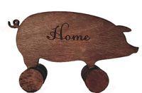 "Статуэтка деревянная ""Home"" (18х10,5х3 см)"