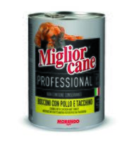 """Консервы для собак """"Cane"""" (405 г; c курицей и индейкой)"""