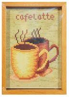 """Вышивка крестом """"Кофе"""" (130х90 мм)"""