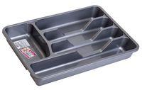 Лоток для кухонных принадлежностей пластмассовый (330х270х40 мм)