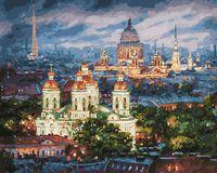 "Картина по номерам ""Все краски вечера. Санкт-Петербург"" (400х500 мм)"