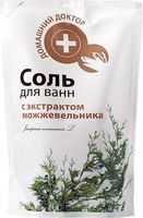 """Соль для ванн """"С экстрактом можжевельника"""" (500 г)"""