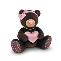 """Мягкая игрушка """"Медведь Choco Milk с сердцем"""" (25 см)"""