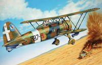 """Истребитель """"C.R. 42 AS"""" (масштаб: 1/72)"""