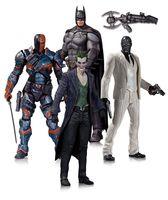 "Набор фигурок ""Бэтмен. Летопись Аркхэма"". 4 в 1 (17 см)"