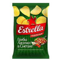 """Чипсы картофельные """"Estrella. Лисички в сметане"""" (125 г)"""