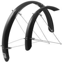 """Комплект щитков для велосипеда с креплением """"Aluflex"""" (24""""; черный)"""