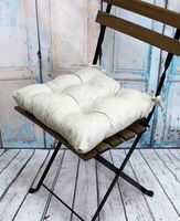 """Подушка на стул """"Simplex"""" (42х42 см; белая)"""