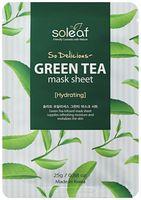 """Тканевая маска для лица """"Освежающая. С зеленым чаем"""" (25 мл)"""