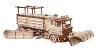 """Сборная деревянная модель """"Снегоуборочная машина"""" (масштаб: 1/30)"""