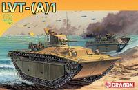 """Гусеничная десантная машина """"LVT-A1"""" (масштаб:1/72)"""