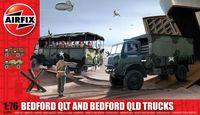 "Набор грузовиков ""Bedford QLT and Bedford QLD"" (масштаб: 1/76)"