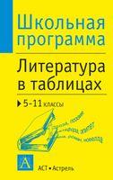 Литература в таблицах. 5-11 классы