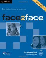 Face2Face. Pre-Intermediate. Teacher`s Book (+ DVD)