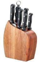 Набор ножей в деревянной подставке (5 шт.; арт. MS-11K123)