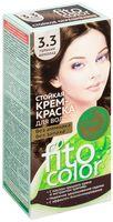 """Крем-краска для волос """"FitoСolor"""" (тон: 3.3, горький шоколад)"""