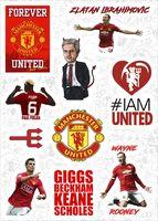 Набор виниловых наклеек 620 - Manchester United