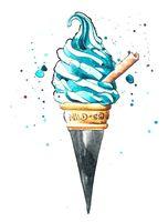 "Объемная аппликация ""Ice cream"""