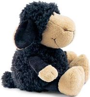"""Мягкая игрушка """"Овечка черная"""" (25 см)"""