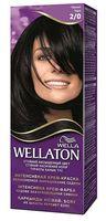 """Крем-краска для волос """"Wellaton. Интенсивная"""" (тон: 2/0, черный)"""