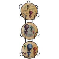 Набор декоративных тарелок (11,5х3х33,5 см; арт. 36262)
