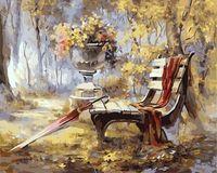 "Картина по номерам ""Осень в парке"" (500х650 мм)"
