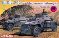 """Легкий бронеавтомобиль """"Sd.Kfz.222 Leichte Panzerspahwagen Twin Pack"""" (масштаб: 1/72)"""