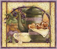 "Алмазная вышивка-мозаика ""Прованский чай"" (400х300 мм)"