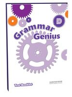 Grammar Genius 4. Test Booklet