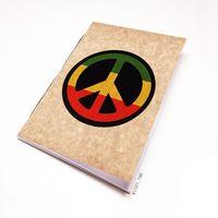 """Блокнот крафт """"Peace"""" (А7; арт. 807)"""