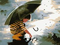 "Картина по номерам ""Счастливое детство"" (400x500 мм; арт. MG211)"