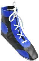 Обувь для самбо П (р.45; кожа; синяя)