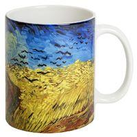 """Кружка """"Ван Гог. Пшеничное поле с воронами"""""""