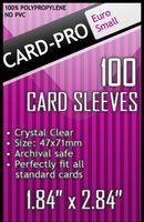 """Протекторы """"Card-Pro. Euro Small"""" (47х71 мм; 100 шт.)"""