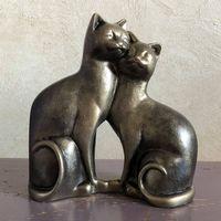 """Статуэтка """"Влюбленные коты"""""""