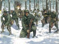 """Набор миниатюр """"Американские войса в зимней форме"""" (масштаб: 1/72)"""