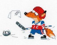 """Вышивка крестом """"Хоккей"""""""
