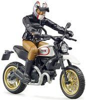"Модель мотоцикла ""Scrambler Ducati Desert Sled"" (масштаб: 1/16)"