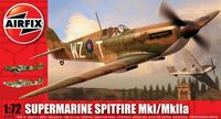 "Истребитель ""Supermarine Spitfire MkI/MkIIa"" (масштаб: 1/72)"