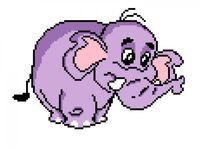 "Вышивка крестом ""Слон"" (220x250 мм)"