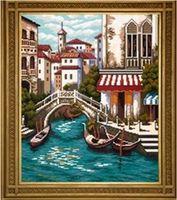 "Алмазная вышивка-мозаика ""Венеция"" (450х550 мм; арт. 7707826)"