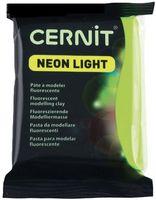 """Глина полимерная """"CERNIT Neon Light"""" (зелёный; 56 г)"""