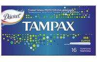 "Тампоны ""TAMPAX. Super"" (16 шт)"