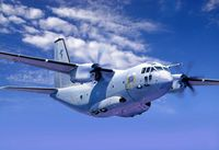 """Транспортный самолет """"C-27J Spartan"""" (масштаб: 1/72)"""