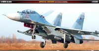 """Самолет SU-30 M2 """"Russian Air Force"""" (масштаб: 1/48)"""