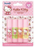 "Набор бальзамов для губ ""Hello Kitty. Sweet smile"" (4 шт)"