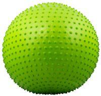 Мяч гимнастический массажный GB-301 (55 см; зеленый)